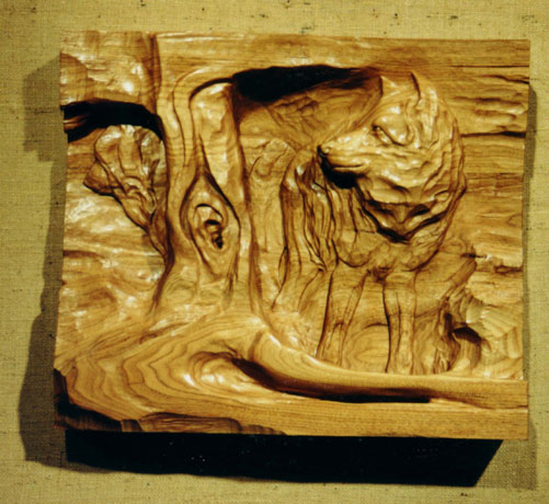 wood sculpture carving